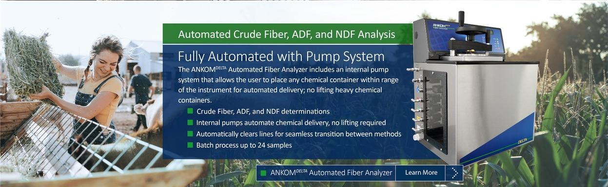 Ankom DELTA crude fiber analyzer
